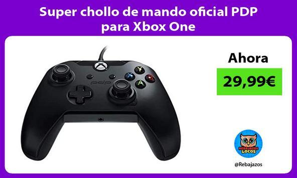 Super chollo de mando oficial PDP para Xbox One