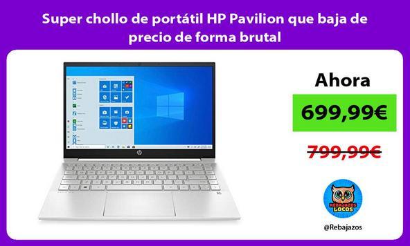 Super chollo de portátil HP Pavilion que baja de precio de forma brutal