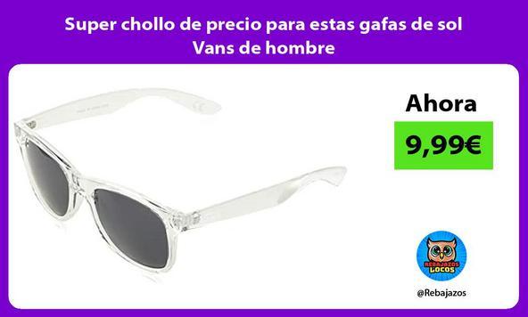 Super chollo de precio para estas gafas de sol Vans de hombre