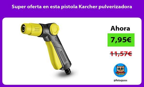 Super oferta en esta pistola Karcher pulverizadora