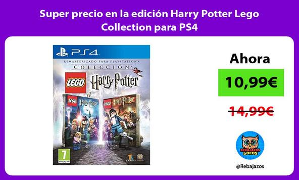 Super precio en la edición Harry Potter Lego Collection para PS4