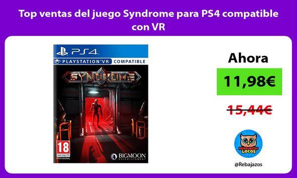 Top ventas del juego Syndrome para PS4 compatible con VR