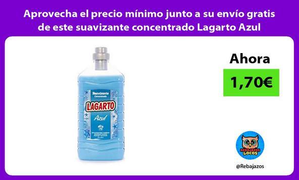Aprovecha el precio mínimo junto a su envío gratis de este suavizante concentrado Lagarto Azul