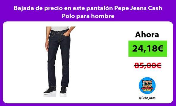 Bajada de precio en este pantalón Pepe Jeans Cash Polo para hombre