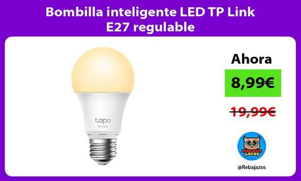 Bombilla inteligente LED TP Link E27 regulable