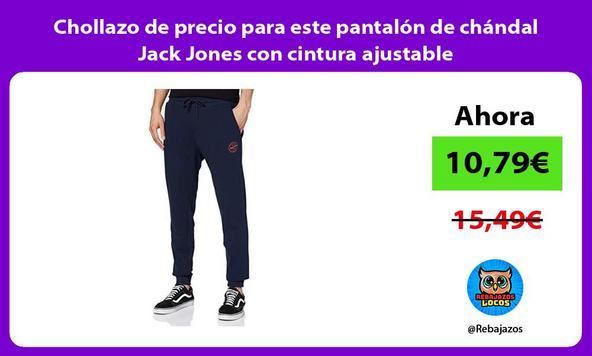 Chollazo de precio para este pantalón de chándal Jack Jones con cintura ajustable