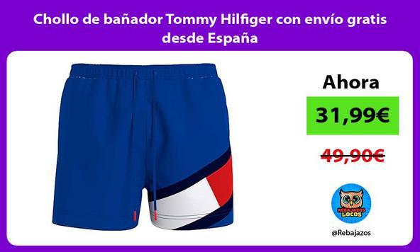 Chollo de bañador Tommy Hilfiger con envío gratis desde España
