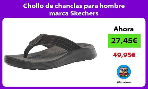 Chollo de chanclas para hombre marca Skechers