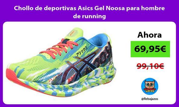Chollo de deportivas Asics Gel Noosa para hombre de running