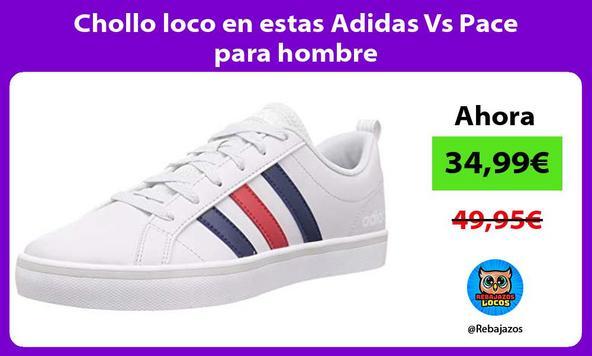 Chollo loco en estas Adidas Vs Pace para hombre