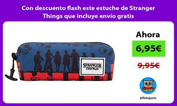 Con descuento flash este estuche de Stranger Things que incluye envío gratis