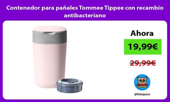 Contenedor para pañales Tommee Tippee con recambio antibacteriano