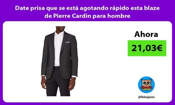 Date prisa que se está agotando rápido esta blaze de Pierre Cardin para hombre