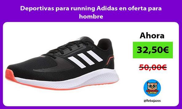 Deportivas para running Adidas en oferta para hombre