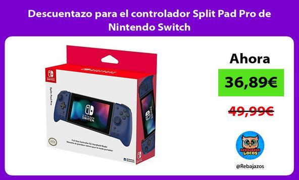 Descuentazo para el controlador Split Pad Pro de Nintendo Switch