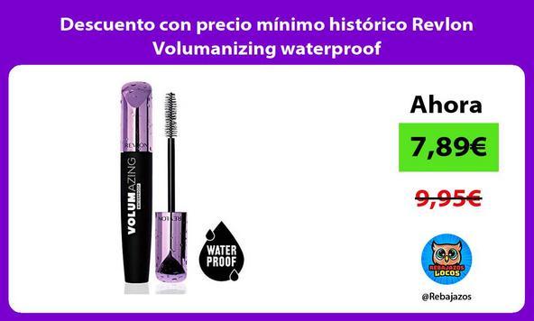 Descuento con precio mínimo histórico Revlon Volumanizing waterproof