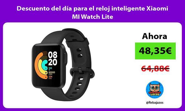 Descuento del día para el reloj inteligente Xiaomi MI Watch Lite