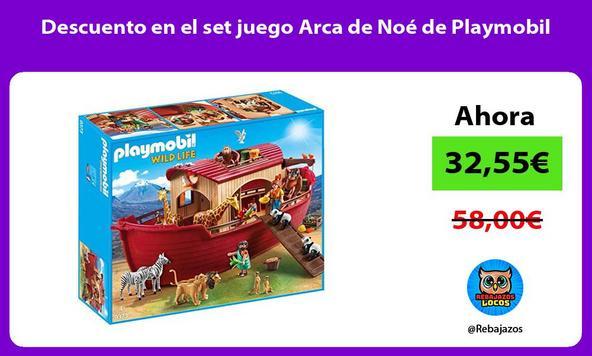 Descuento en el set juego Arca de Noé de Playmobil