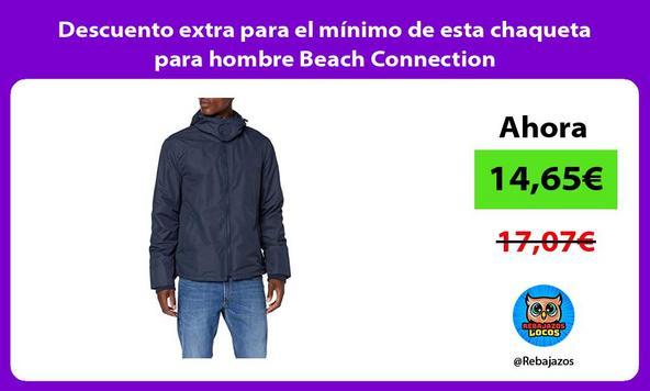 Descuento extra para el mínimo de esta chaqueta para hombre Beach Connection