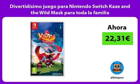 Divertidísimo juego para Nintendo Switch Kaze and the Wild Mask para toda la familia