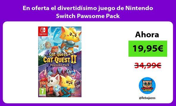 En oferta el divertidísimo juego de Nintendo Switch Pawsome Pack