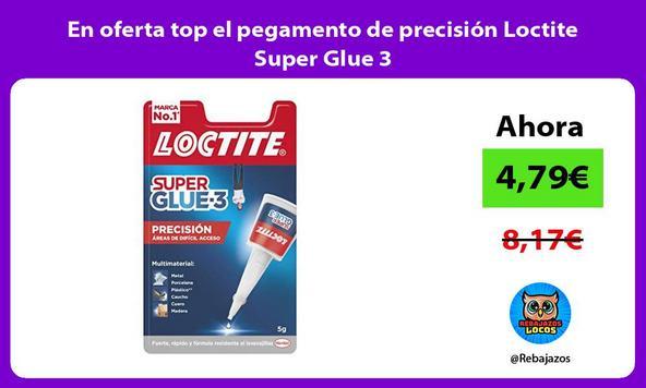 En oferta top el pegamento de precisión Loctite Super Glue 3