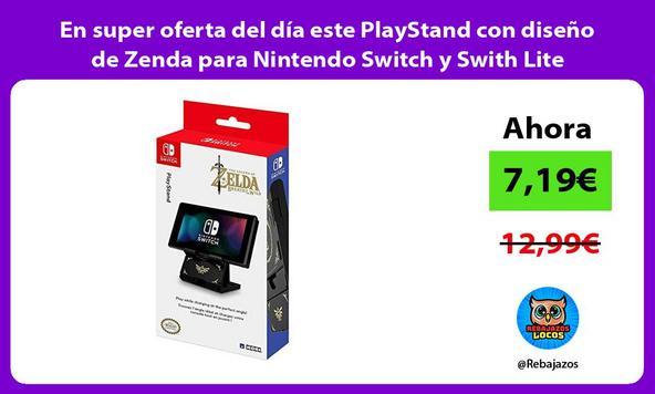 En super oferta del día este PlayStand con diseño de Zenda para Nintendo Switch y Swith Lite