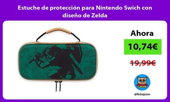 Estuche de protección para Nintendo Swich con diseño de Zelda