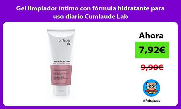 Gel limpiador íntimo con fórmula hidratante para uso diario Cumlaude Lab