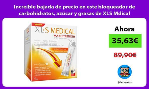 Increíble bajada de precio en este bloqueador de carbohidratos, azúcar y grasas de XLS Mdical