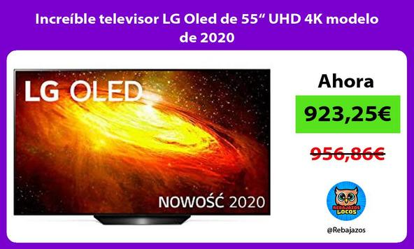 "Increíble televisor LG Oled de 55"" UHD 4K modelo de 2020"