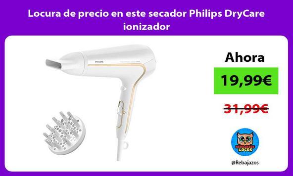 Locura de precio en este secador Philips DryCare ionizador