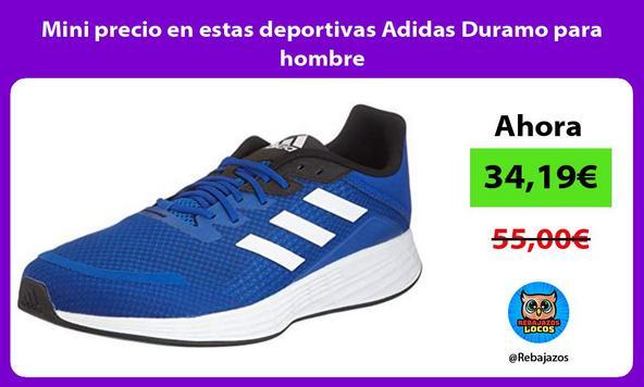 Mini precio en estas deportivas Adidas Duramo para hombre
