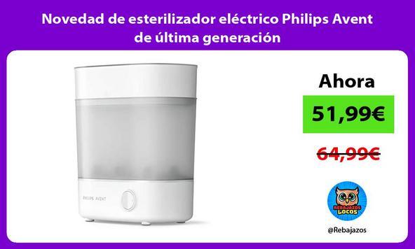Novedad de esterilizador eléctrico Philips Avent de última generación