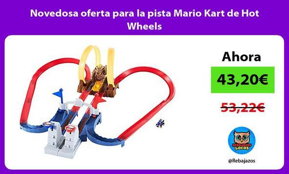 Novedosa oferta para la pista Mario Kart de Hot Wheels