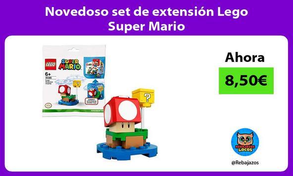 Novedoso set de extensión Lego Super Mario