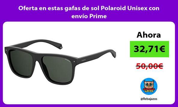 Oferta en estas gafas de sol Polaroid Unisex con envío Prime