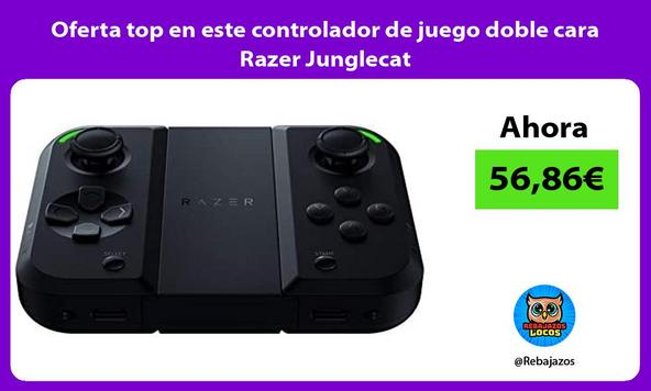 Oferta top en este controlador de juego doble cara Razer Junglecat