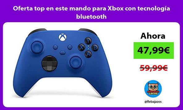 Oferta top en este mando para Xbox con tecnología bluetooth