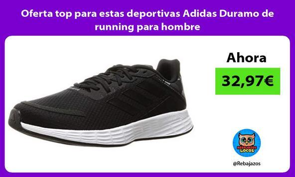 Oferta top para estas deportivas Adidas Duramo de running para hombre