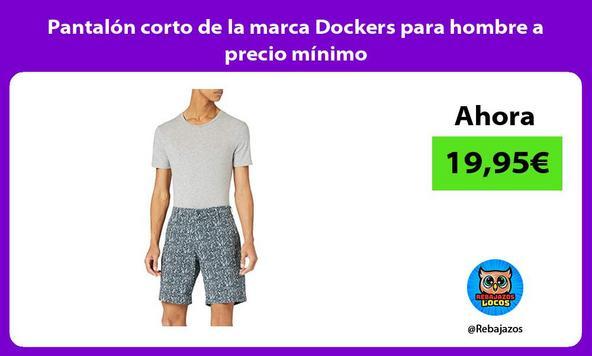 Pantalón corto de la marca Dockers para hombre a precio mínimo