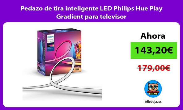 Pedazo de tira inteligente LED Philips Hue Play Gradient para televisor