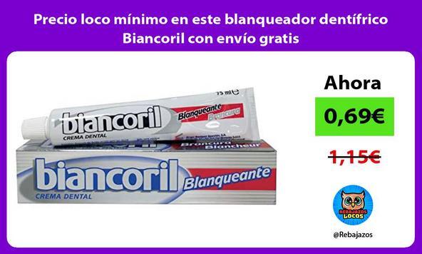 Precio loco mínimo en este blanqueador dentífrico Biancoril con envío gratis