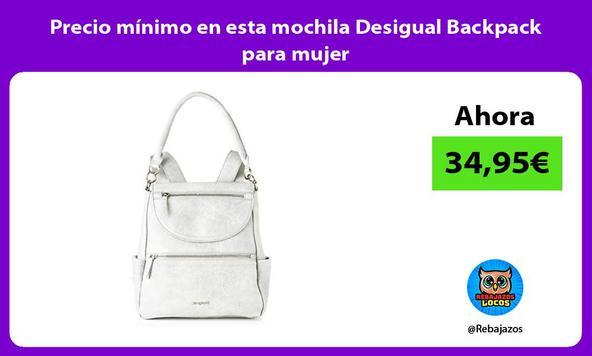 Precio mínimo en esta mochila Desigual Backpack para mujer