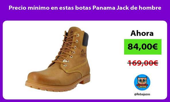 Precio mínimo en estas botas Panama Jack de hombre