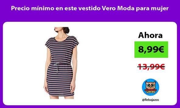 Precio mínimo en este vestido Vero Moda para mujer
