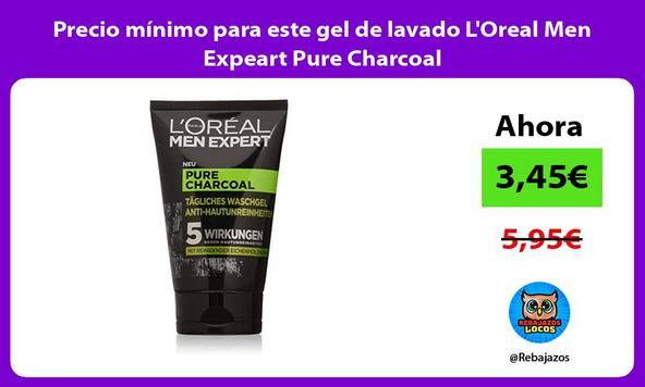 Precio mínimo para este gel de lavado L'Oreal Men Expeart Pure Charcoal