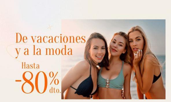 Promoción loca con un descuento de hasta el 80% + cupón de 4€ en toda la categoría de moda y hogar