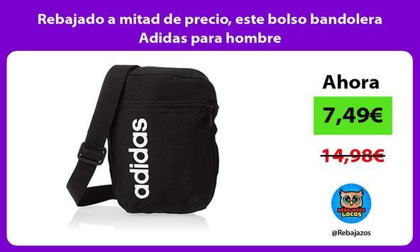 Rebajado a mitad de precio, este bolso bandolera Adidas para hombre
