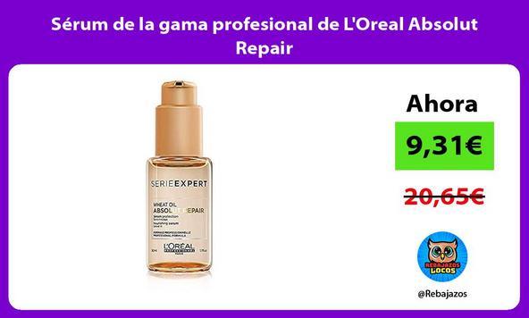Sérum de la gama profesional de L'Oreal Absolut Repair